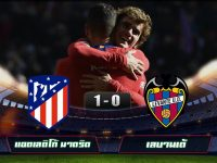 Atletico Madrid 1-0 Levante